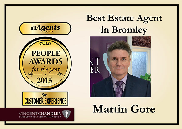 Best Estate Agent in Bromley Gold