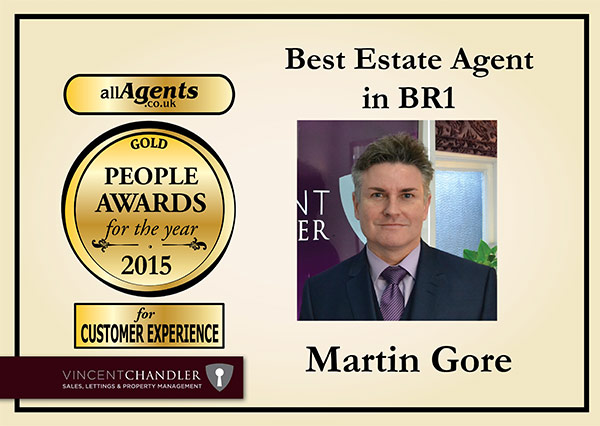 Best Estate Agent in BR1 Gold
