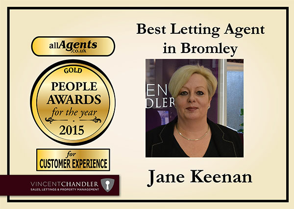 Best Letting Agent in Bromley Gold