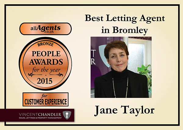 Best Letting Agent in Bromley Bronze