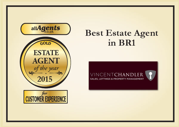 Best Estate Agent in BR1 Gold 2015