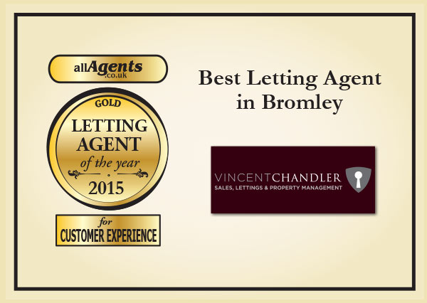 Best Letting Estate in Bromley Gold